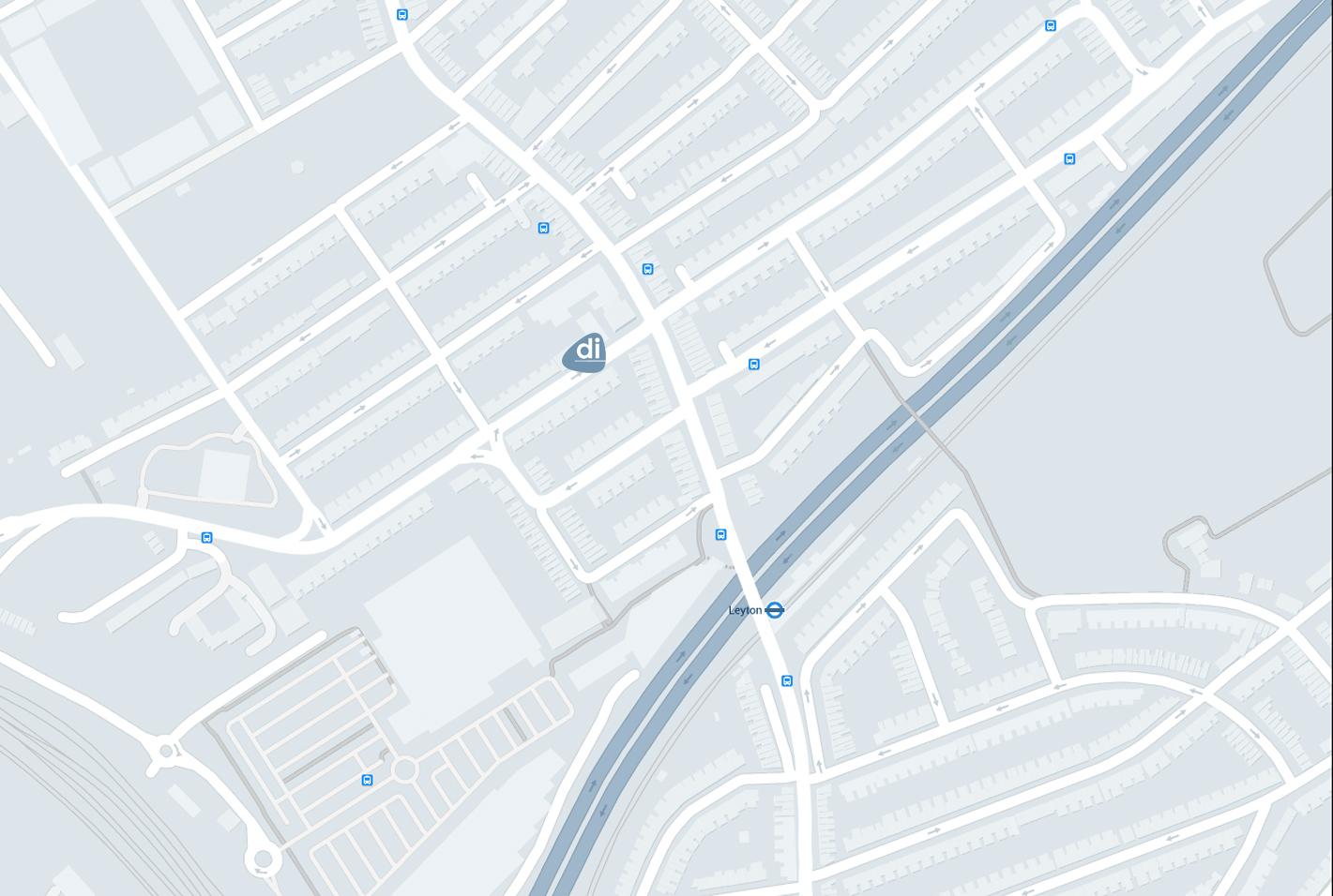 Leyton Map